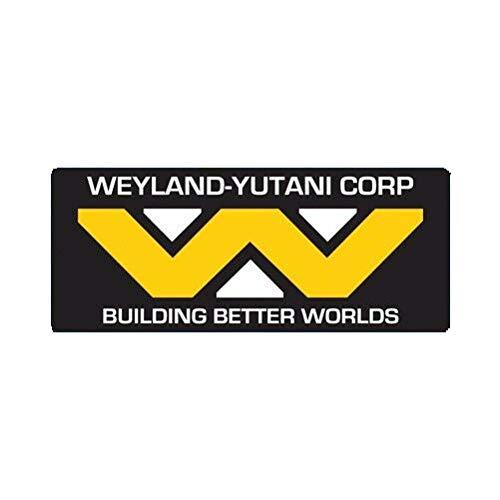 "EW Designs Weyland Yutani Corp Sticker Multicolor Decal Weyland-Yutani Corporation Bumper Sticker Vinyl Sticker Car Truck Decal 5"""