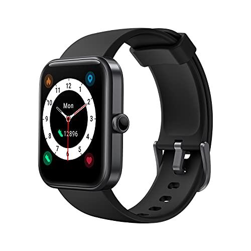 LATEC Smartwatch, Reloj Inteligente con 1,69'' Pantalla, Alexa Incorporado, 14 Modos de Deporte, Reloj Deportivo Impermeable 5ATM con Monitor de Oxígeno de Sangre y Monitor de Frecuencia Cardíaca