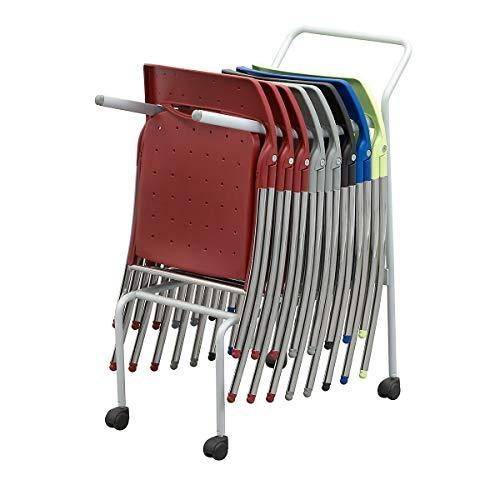 Chariot de transport - pour 10 chaises pliantes