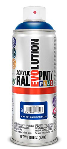 Pintura En Spray Azul Marca PINTYPLUS EVOLUTION