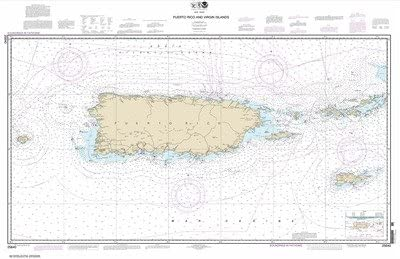 Synthetic Media NEW before selling Max 81% OFF ☆ NOAA Chart 25640: Puerto Virgin Rico and Islands