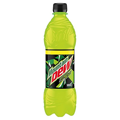 Mountain Dew Citrus Explosion drink, 500 ml (Pack of 12 x 500 ml)