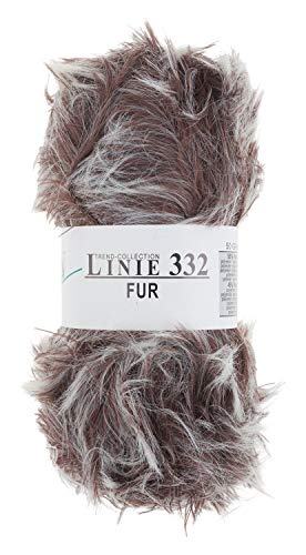 ONline Fell-Wolle Trend-Collection Linie 332 FUR Nadelstärke 6-7 50g Farbe 03