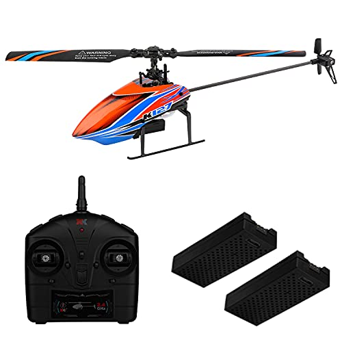 WLTOYS RC Helicopter for Adults and Kids, 4 Channel 32Mins Flying Time...