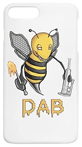 Bee Dab Caja del Teléfono Compatible con iPhone 7+, iPhone 8+ Cubierta de Plástico Duro Hard Plastic Cover