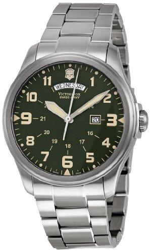 Victorinox Swiss Army Men's 241291 Infantry Green Dial Watch