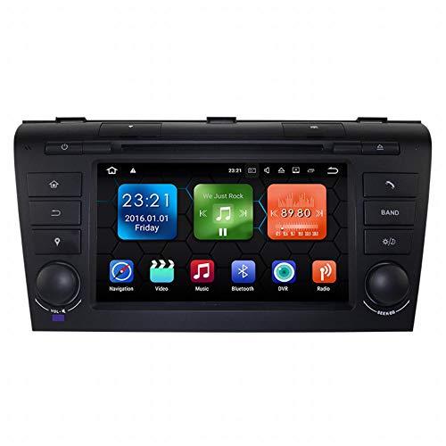 WHL.HH 7 Pulgadas Auto Estéreo Radio Androide por Mazda 3 2004-2009 GPS Navegación Unidad Principal HD Tocar Pantalla DVD Multimedia Jugador SWC RNS Bluetooth Vidoe Receptor