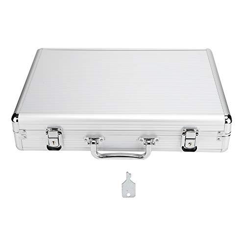 ZJchao 24 Grid Watch Display Suitcase, Aluminium Watch Display Storage Box Case...