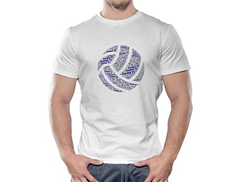 Dundee FC Novelty Football Ball T Shirt, (XX Large)