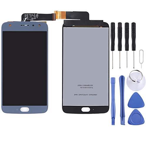 Zhouzl Motorola Spare for Motorola Moto X4 LCD Screen e Digitizer Full Assembly (Nero) Motorola Spare (Colore : Blue)