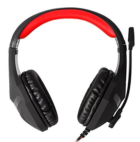 Mars Gaming MH2, Auriculares Gaming con Micrófono, Ultrabass, Cancelación Ruido