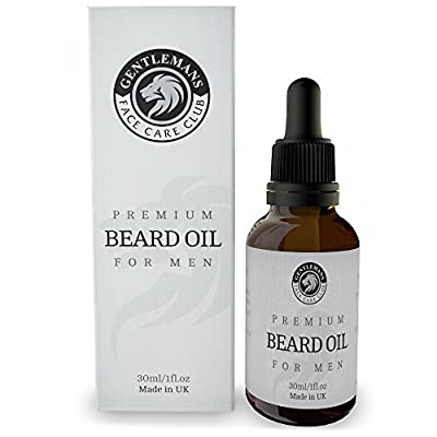 Beard Oil 30ml - Premium Beard Conditioning Oil For Men by Gentlemans Face Care Club
