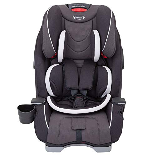 Graco Slimfit All-in-One Car Seat, Group 0+/1/2/3, Pearl Grey