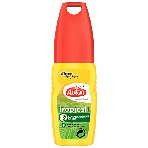Autan Tropical, Mückenschutz, Pumpspray, 1er Pack (1 x 100 ml)