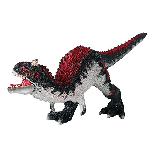 Juguete De Figura De Dinosaurio Carnotaurus - 25cm Jurassic World Figura De Dinosaurio Realista Boca Abierta Adorno De Figura De Dinosaurio Prehistórico
