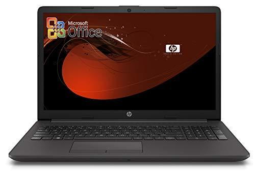 HP 250 G7 Notebook PC, cpu Intel Core i3 di 8 gen. fino a 3,4 GHz, display 15.6 LED, SSD M.2 da 500 GB, RAM 8 GB, Bt, WIFI, Hdmi, web cam, Win10 Pro 64, Office 2019, pronto all'uso, Gar. Italia