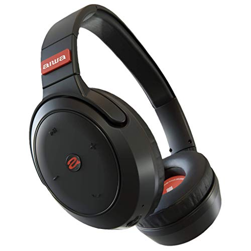 Aiwa Arc-1 ANC - Bluetooth Active Noise Cancelling Headphones - Over Ear - Audiophile Sound Quality - 40-Hour Playtime