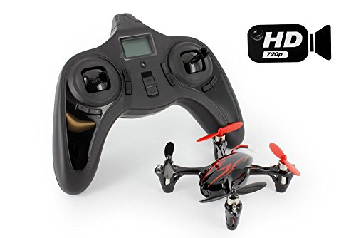 Hubsan X4 H107C with HD 2MP Camera 2.4G 4CH 6 Axis Gyro RC Quadcopter, Mode 2 RTF