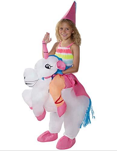 PARTY FIESTA Disfraz Unicornio Hinchable Infantil (T.Única)