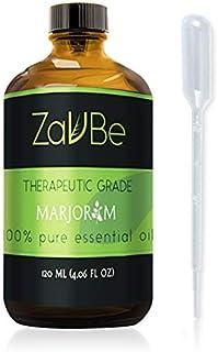 ZAVBE Marjoram Oil | 100% Pure, Undiluted, Natural, Therapeutic Grade 120 mL (4 oz)
