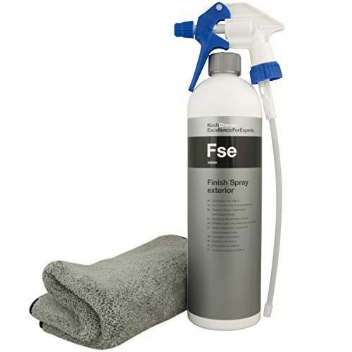 Koch Chemie Fse Finish Spray Exterior Schnellglanz+ Sprühkopf+Microfasertuch