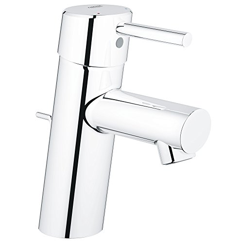 GROHE 3427000A Concetto S-Size Single-Handle Single-Hole Bathroom Faucet - 1.2 GPM