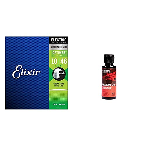 Elixir Electric Guitar Strings, OPTIWEB