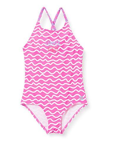 Schiesser Badeanzug Mädchen Costume Intero, Multicolore 2, 116 cm Bambina