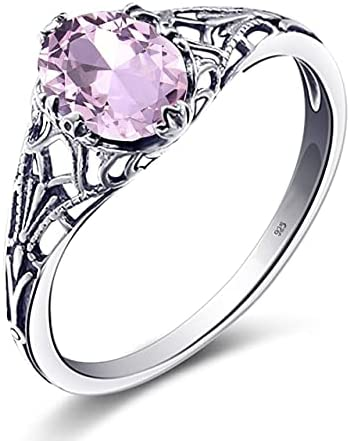 AAA+ safety Cubic Zirconia Ring Women Real 925 Max 68% OFF Finger E Sterling Silver