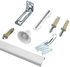 Richelieu Hardware - 14012WBC - Bi-Fold Door Hardware Kit - White Zinc Beige  Finish