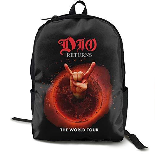 Bester der welt N / A Ronnie James Dio Amerikanischer Heavy Metal Sänger Pack Klassischer Rucksack Schultasche…