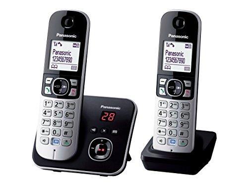 Panasonic KX-TG6822GB Black, KX-TG6822GB