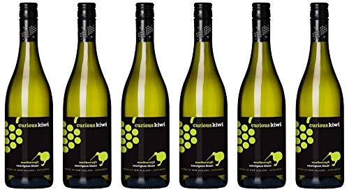 6x Curious Kiwi Sauvignon Blanc 2017 - Weingut Marisco, Marlborough - Weißwein