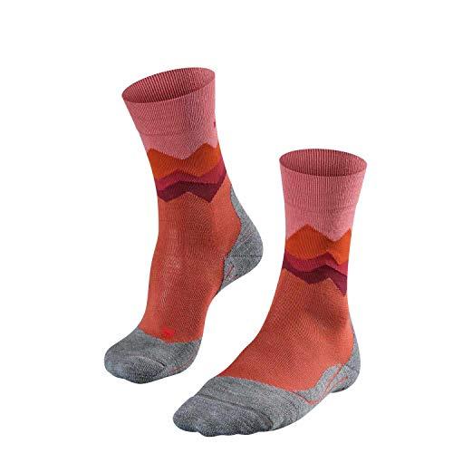 FALKE Damen TK2 Crest Trekking Socken, Copper, 39-40