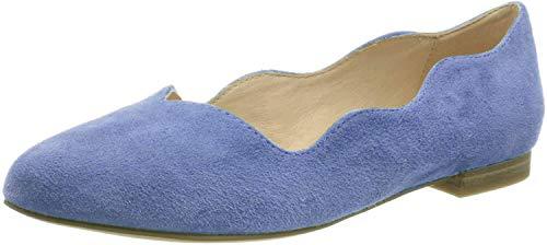 CAPRICE Damen Ballerinas Da.-Slipper 9-9-24201-24/818 blau 811566