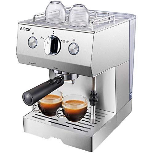 Aicok Cafetière Expresso, Machines à...