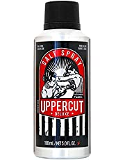 Uppercut Deluxe Hair Salt Spray For Men Pre Hair Styling Primer Spray With A Light Hold And Natural Finish Suitable For All Hair Types - Citrus and Wood Fragrance 150ml