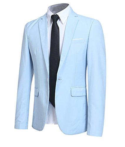 Top 10 Best Baby Blue Blazer Mens Comparison