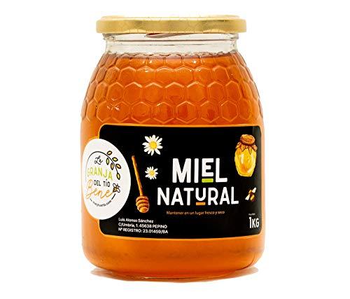 Miel de Abeja Pura, Miel de Mil Flores Natural de 1 Kg - 100 {c1389c823d3e7ba5f794c534c7a06e3d903c88d7844d962d57d90eec6b506b11} Artesanal Recolectada de Colmenares Propios