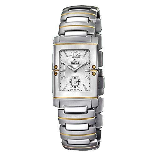 Reloj Jaguar Referencia J610/1 de Acero con Detalles Dorado, Cierre de Seguridad