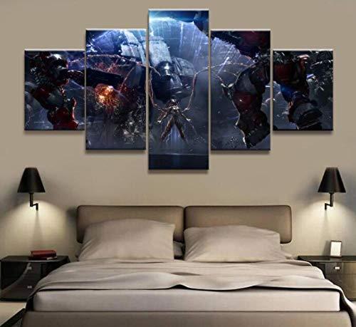 ZKPWLHS Gemälde 5 Stück Kerrigan Starcraft Spiel Malerei Poster Wandkunst Malerei Home Decor Bild (Größe A) Kein Rahmen