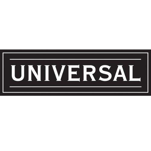 Universal - Lot de 2 supports adhésifs pour tringles à voilage - blanc