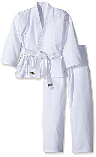 Kwon, Completo da Karate Bambino Renshu, Bianco (Weiß), 120 cm