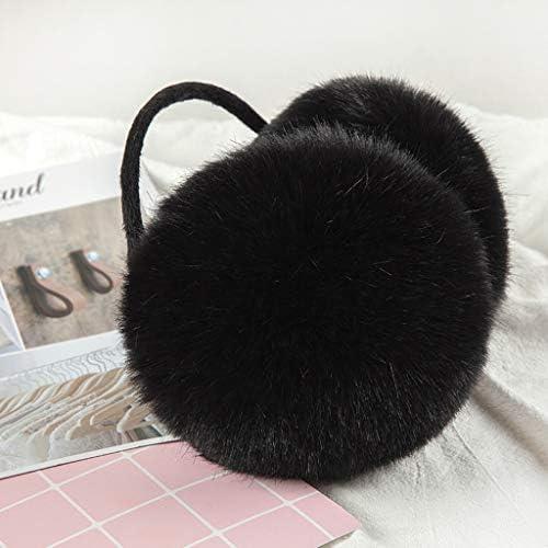 LHL Sunny oorbeschermers achter gehoorbescherming dames kunstbont voor winter