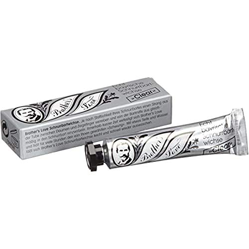 Brother's Love Schnurrbartwichse, clear, 2er Pack, (2x 10 ml)