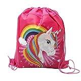 I Bambini Non Tessuto Unicorn Dello Zaino Drawstring Del Fumetto Sport Travel Bag Sacco Borsa Di Stoccaggio Con Coulisse Per Ragazzi Ragazze