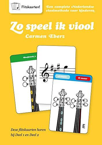 Zo Speel Ik Viool Flitskaarten - Book