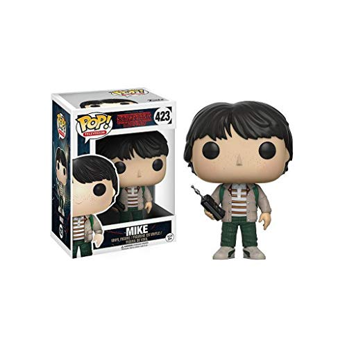 CCLL Pop TV: Stranger Things - Mike Vinilo Figura colección de Regalos Anniversary Edition Juguetes Toys