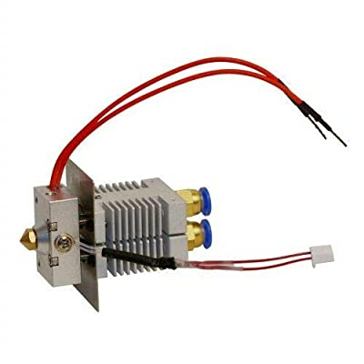 Geeetech 3D Printer 2 in 1 Out Dual Extruder Mix Color Hotend for A10M A20M