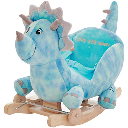 For Sale! FJH Rocking Horses Rocking Horse Children's Toys Baby Wooden Horse Car Baby Putter Rocking...